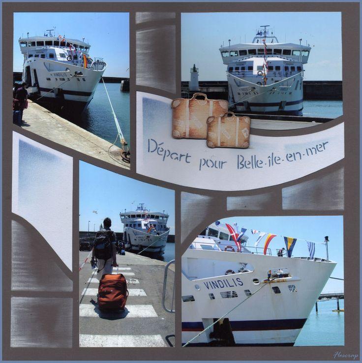 Départ pour Belle-Ile-en-mer                                                                                                                                                                                 Plus