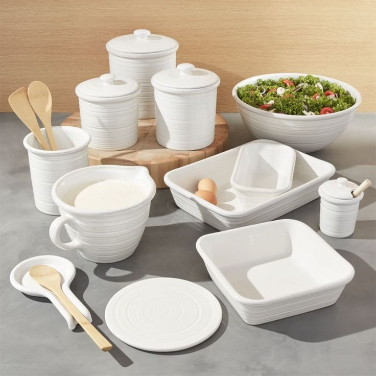 Shop Farmhouse Collection. Ribbed with the look of hand-thrown pottery, our stoneware Farmhouse collection brings a down-home feel to hearty, home-cooked meals.