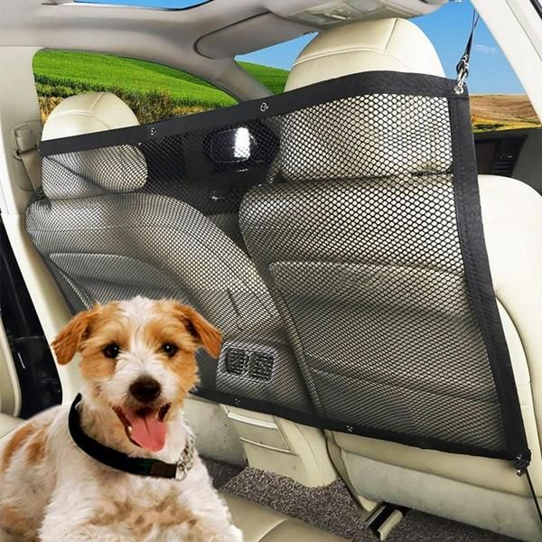 Oxford cloth net Car pet isolation network Pet Barrier pet cat dog Car – ecenturydeals.com