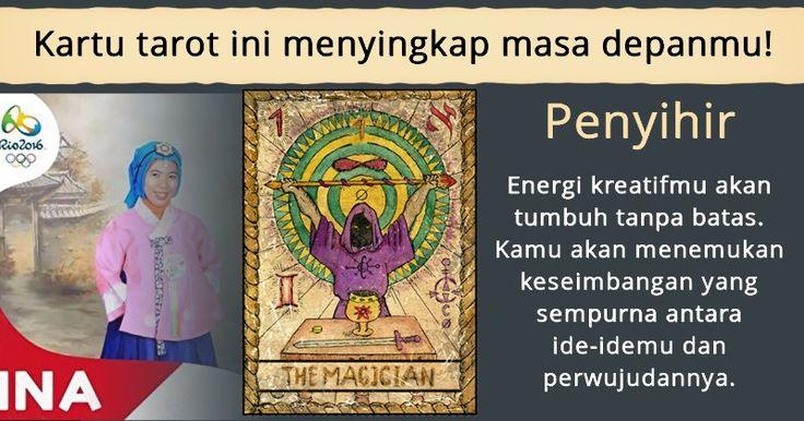 Pilih satu kartu tarot dan ketahui masa depanmu!