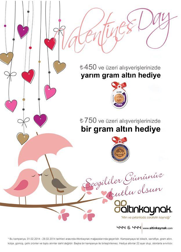 Sevgililer günü kampanyası...