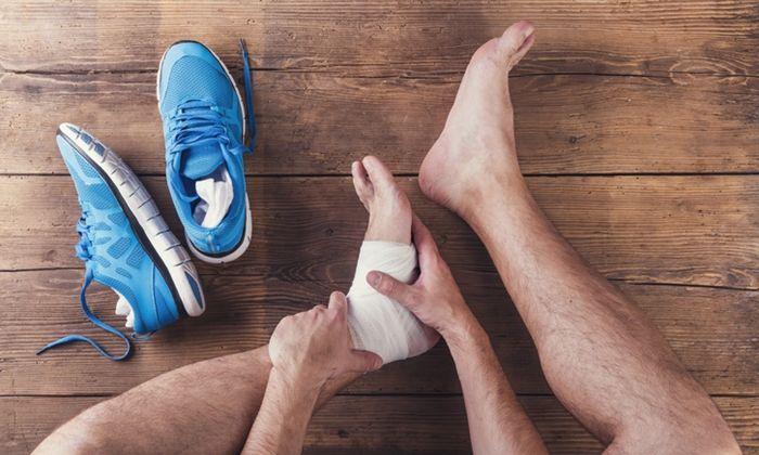 การร กษาโรคเอ นใต ฝ าเท าอ กเสบ หร อโรครองช ำ และอาการปวดข อเท าเร อร งทางด านหล งม สาเหต มาจากเอ นร อยหวายอ กเสบ จะไม ใช Sprain Sprained Ankle Foot Remedies