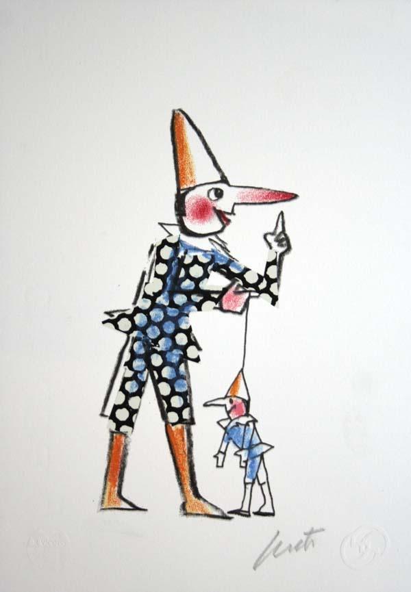 #Pinocchio #Luzzati-Emanuele #2002