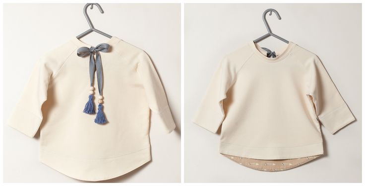 Tahki blouse in natural