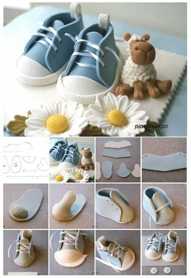 17 Best Images About Baby Shoes Templates On Pinterest