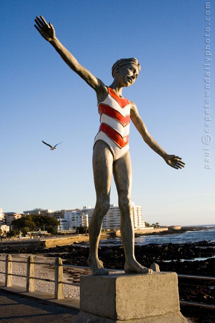 Statues along Sea Point Promenade, Cape Town