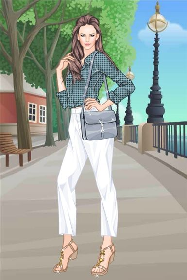 Fashion clothes game dress makeover games