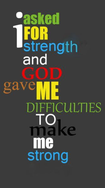 but He was with me every step of the way: God Will, The Lord, God Strength Quotes, Remember This, Quotes Of Faith, God Is, Christian Quotes For Strength, Strength In God Quotes, Christian Quotes On Strength
