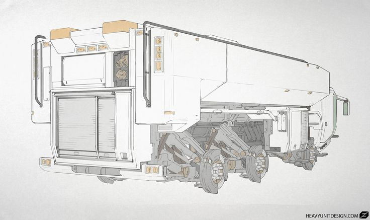 3D Total truck design, Mike Hill on ArtStation at http://www.artstation.com/artwork/3d-total-truck-design