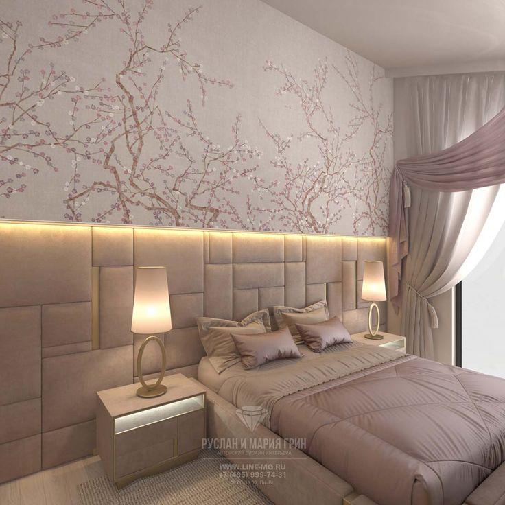 Дизайн розовой спальни: фото http://www.interior-design.biz/dizayn-kottedzha-vnutri-foto-v-sovremennom-stile