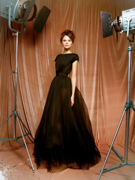 Ulyana Sergeenko. Pretty dress