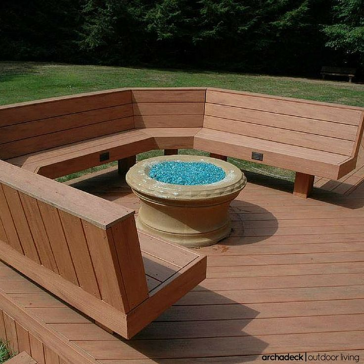 117 Best Images About Built In Deck Seating, Benches