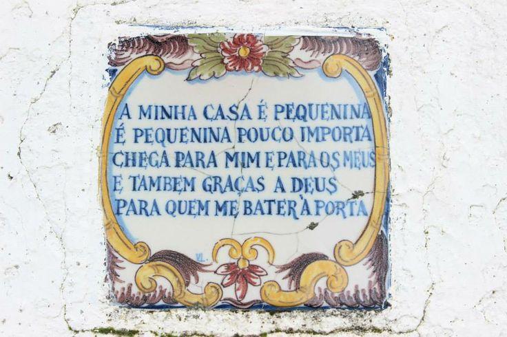 A minha casa. Portugal