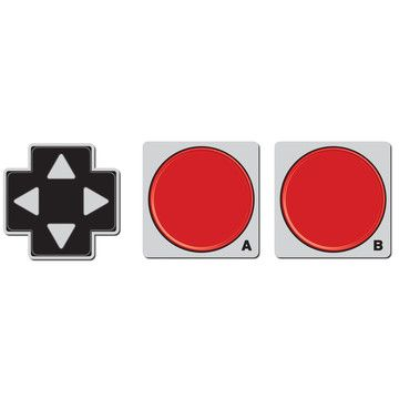 Game Pad Coasters, $13.50, now featured on Fab.