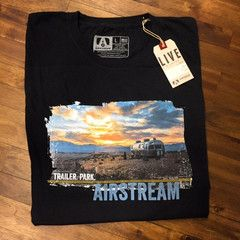 #Airstream Trailer.Park t-shirt with photo by Brian Braun