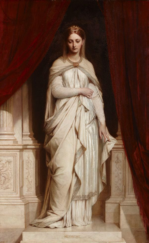 Thomas Francis Dicksee, Hermione, 1874