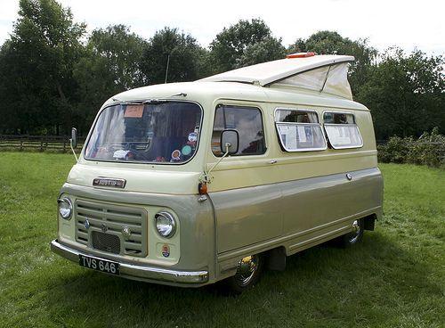 "1961 Austin 152 Omnivan ""Car Camper"""