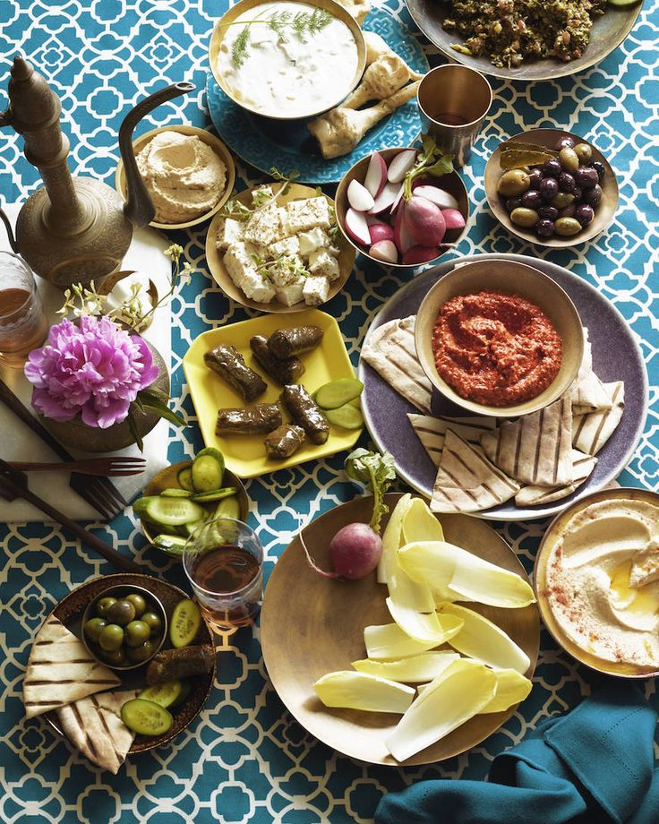 Mezze Bar - the most delicious way to throw a party for a crowd from www.whatsgabycooking.com (@whatsgabycookin)