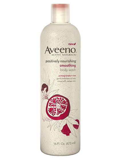 Best of Beauty 2015 Winner -- the best body scrub: Aveeno Positively Nourishing Smoothing Body Wash | allure.com