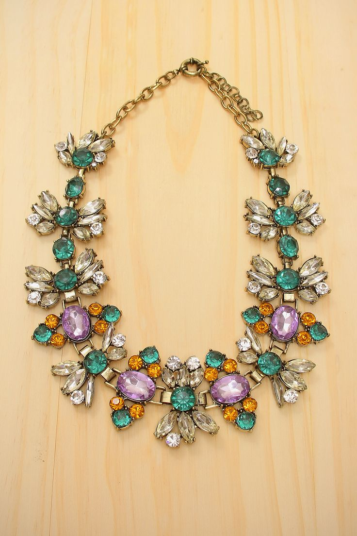 Wisteria Gardens necklace