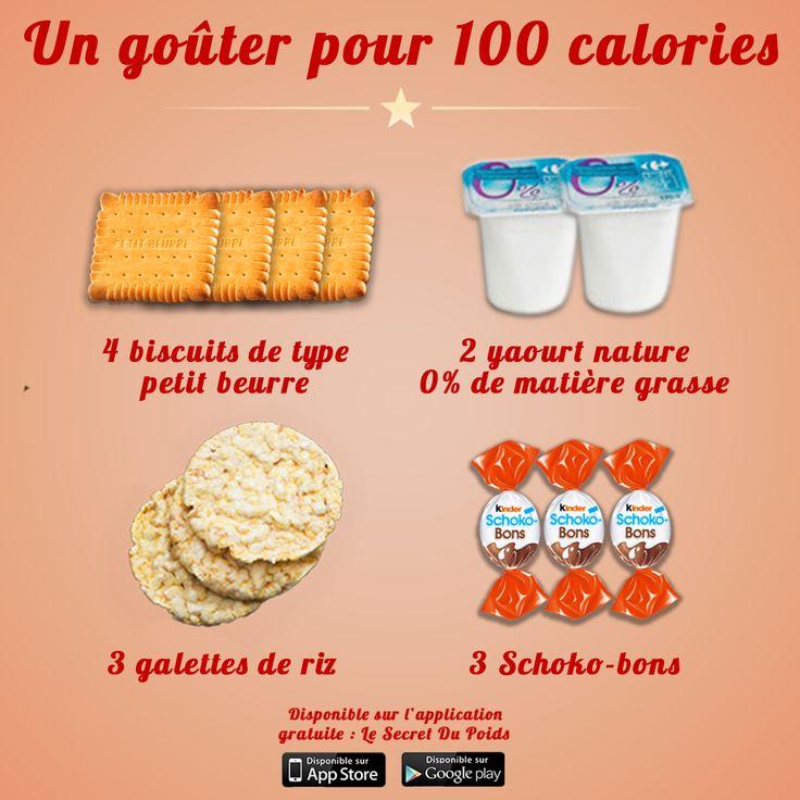Exemple de goûters pour 100 calories par Le Secret du ...
