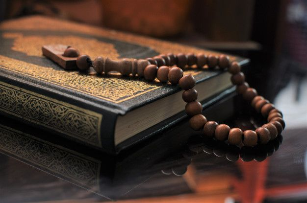 The Holy Quran With Tasbih Rosary Beads Holy Quran Quran Learn Quran Quran hd wallpaper download free