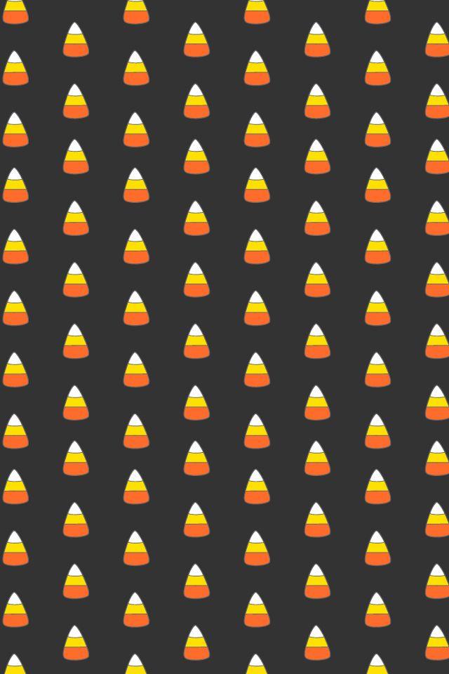 """""""Candy corn"""" Halloween wallpaper"""