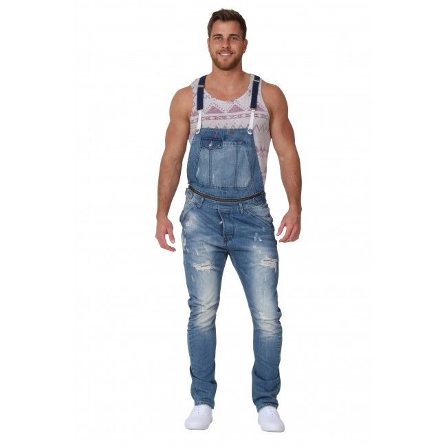 Asos Dungarees for Men Black Hip-Hop Style Dungarees! I wouldn't call them classical, but nevertheless this type of dungaree is the one we have seen in quite many music Videos from the 80's or 90's, worn by famous Rap or Hip-Hop Artists.