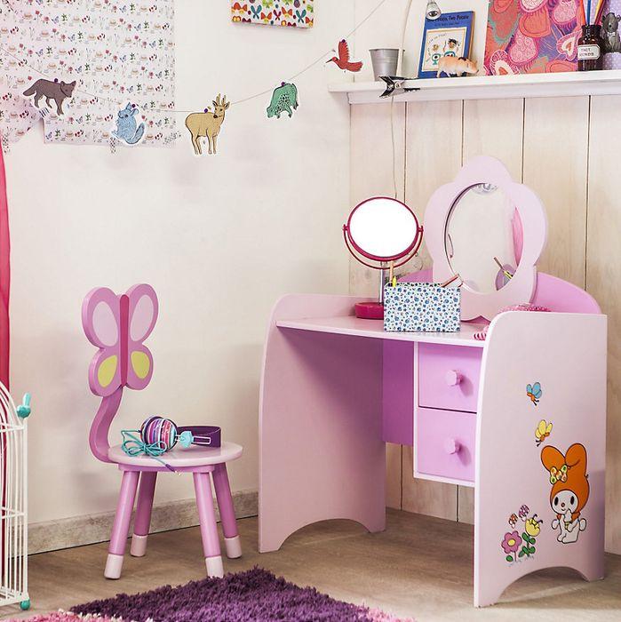 Gen rico escritorio silla infantil rosado products for Escritorio infantil