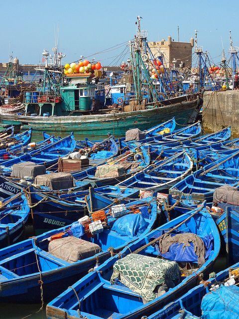 Harbour Essaouira. Morocco. by elsa11, via Flickr