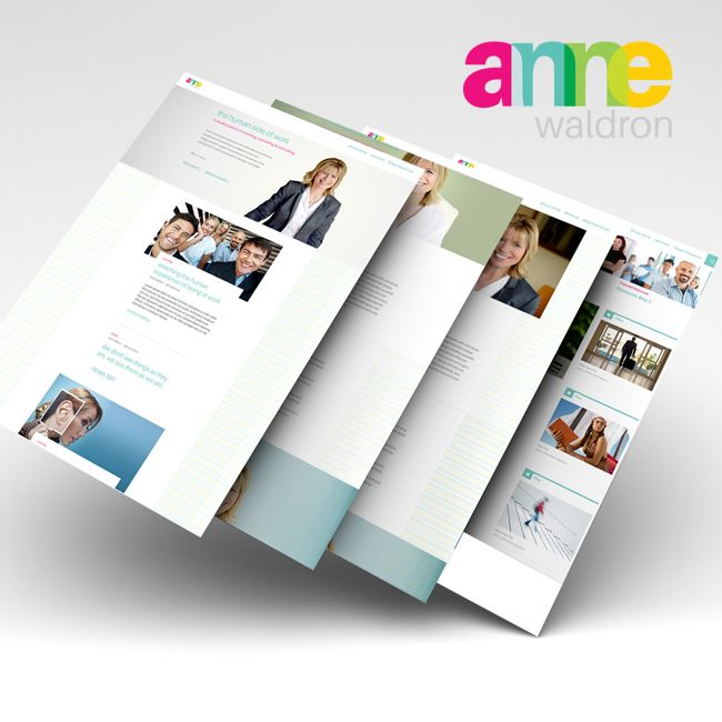 #WebDesign & #WebDevelopment for Anne Waldron - #Branding #graphicdesign #identitydesign