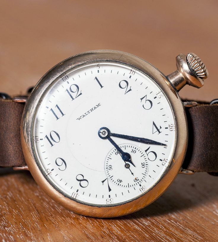 """""""1912 Franklin"""" - Vintage Trench Watch Replica"""