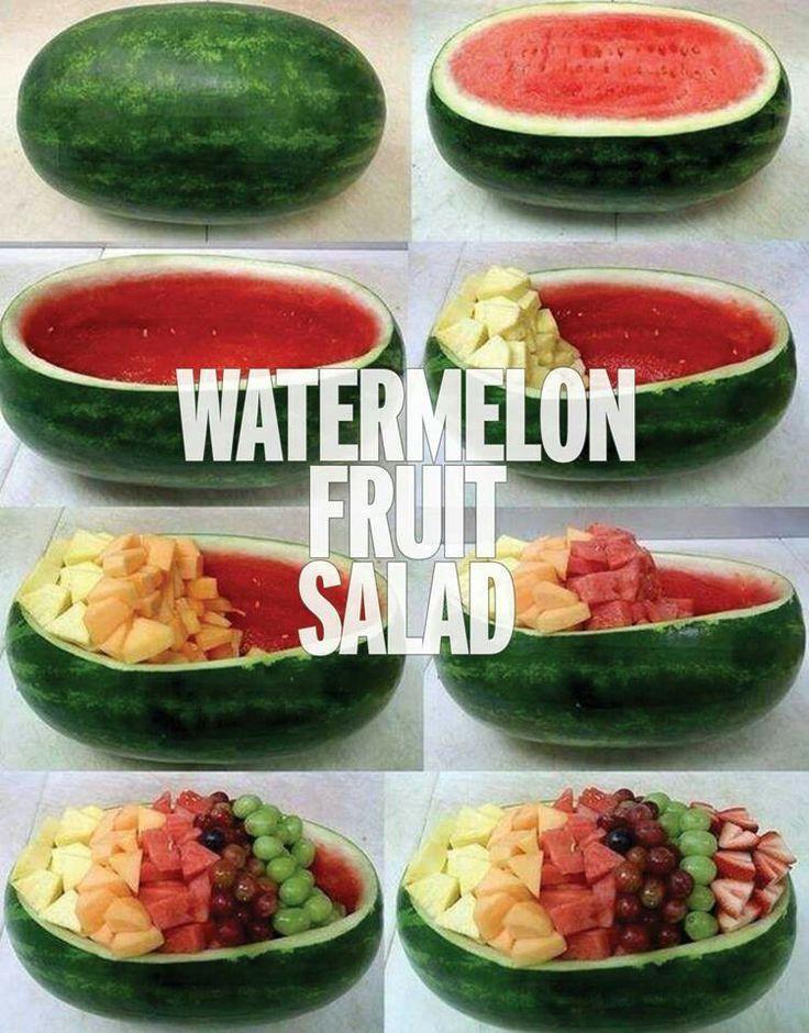 Great fruit salad idea:-D