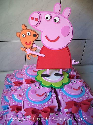 Peppa Pig | centro de mesa