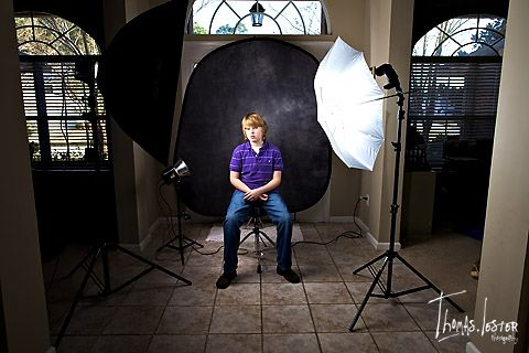 how to set a nickon for a business portrait