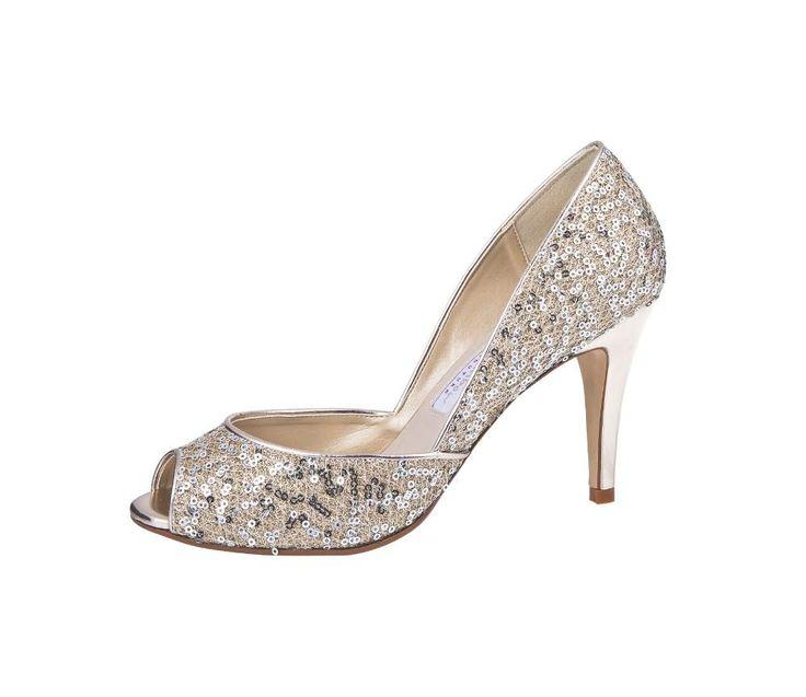 Luxury wedding shoes, Wedding pump, Bridal high heels, Wedding shoes peep toe, Sparkly wedding shoes, Online webshop levering NL & BE www.sayyestothedress.nl / www.syttd.com