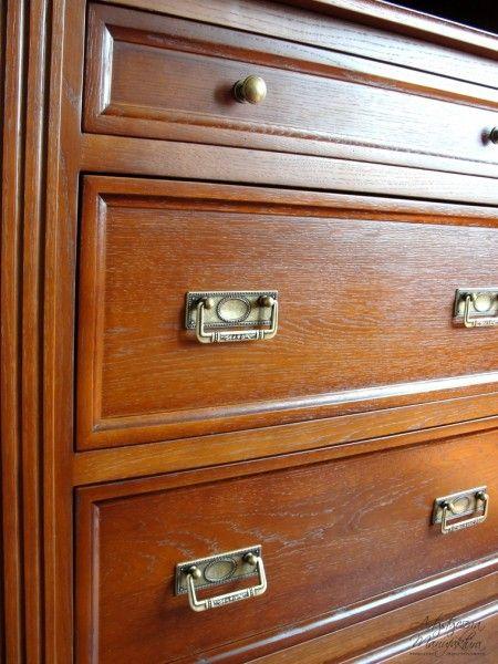 biblioteka z dębu, oak drawers, traditional home bookcases cabinets   - wykonanie Artystyczna Manufaktura