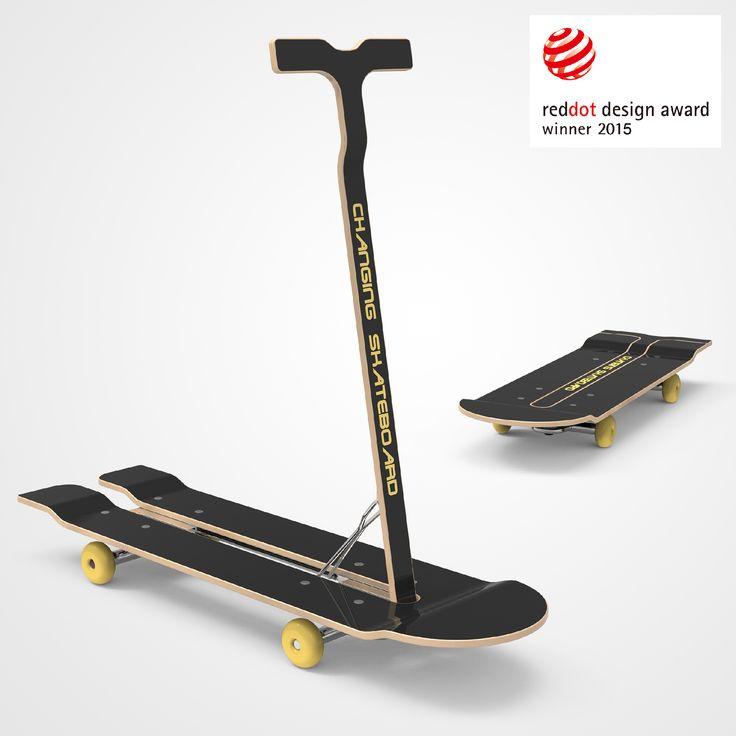 RedDot:Dual-Purpose Skateboard