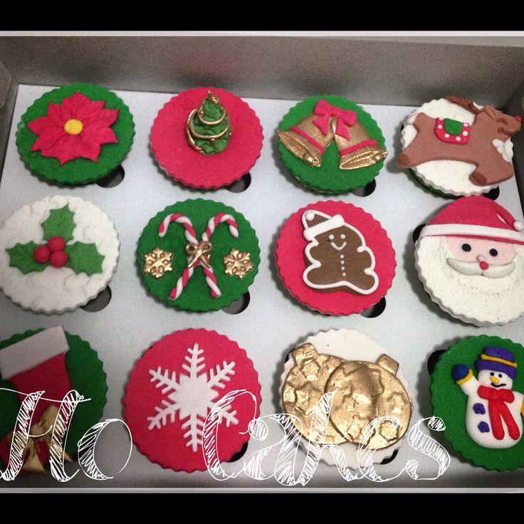 Xmas cupcakes