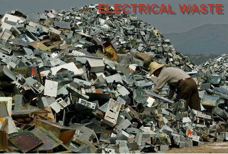 The Destruction of the Developed Work - Electrical Waste