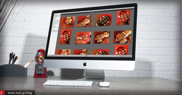 Παρουσίαση iPhoto για Mac