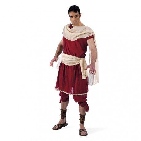 #Disfraz de #Griego con #Túnica para #Hombre  Este disfraz de Griego es muy real, con tejidos y confeccion de calidad, conviertete en Theon de Alejandria y viaja a otra epoca muy lejana. Disfraz ideal para fiestas de Romanos y Griegos.