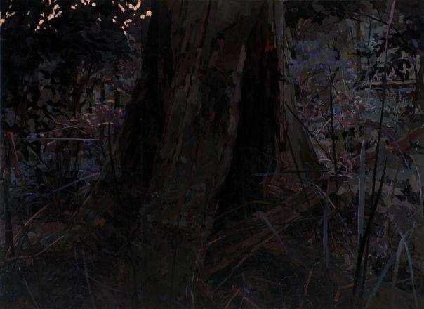 """Mary Tonkin, """"Witness, Kalorama"""" 2010, oil on linen, 206 x 283 cm"""