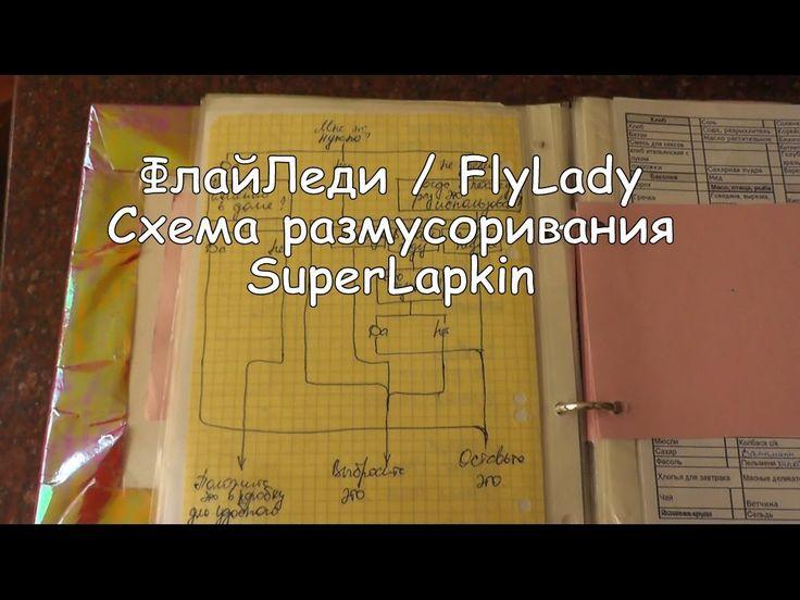 ФлайЛеди / FlyLady Схема размусоривания (SuperLapkin)