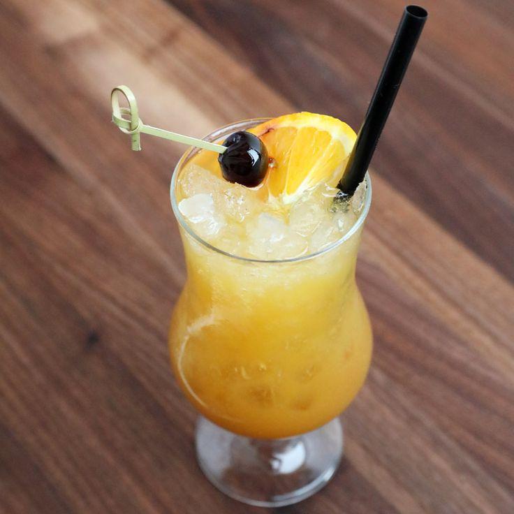 how to make a blue hurricane drink