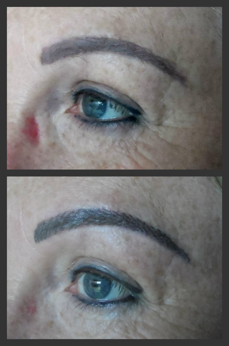 Eyebrow correction with hairstrokes. Bookings: 083 692 2207