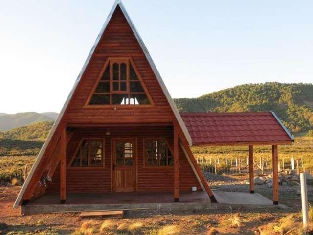 Las 25 mejores ideas sobre caba as alpinas en pinterest - Construccion de cabanas de madera ...