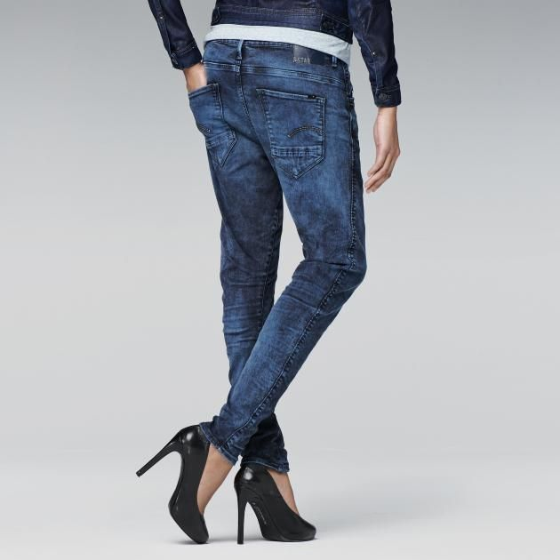 G-Star RAW-Arc 3d Tapered Coloured Jeans-Women-Colour jeans Spruce $260