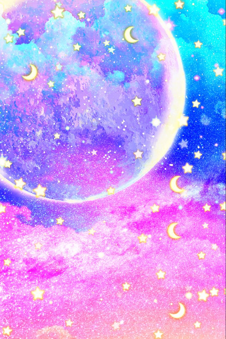 Cool portrait photo collage of glowing dark blue aesthetic images. Aesthetic Sky | Moon and stars wallpaper, Pink tumblr