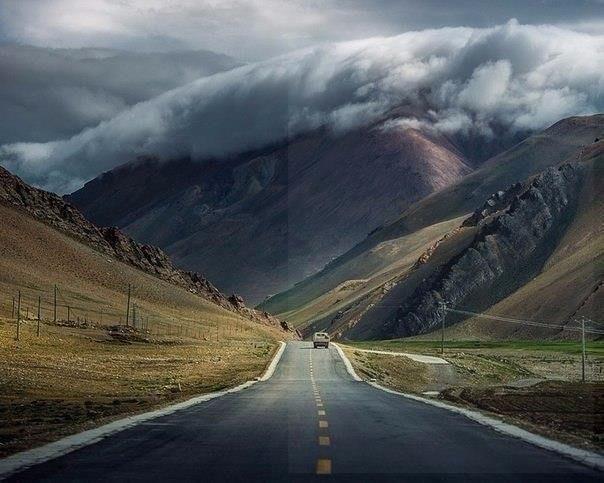 Место, где встречаются небо и земля, Тибет